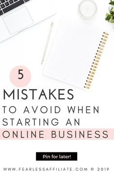 Business mistakes - 5 Mistakes to Avoid When Starting an Online Business – Business mistakes Online Entrepreneur, Business Entrepreneur, Business Marketing, Online Marketing, Inbound Marketing, Affiliate Marketing, Digital Marketing, Inspiration Entrepreneur, Business Inspiration