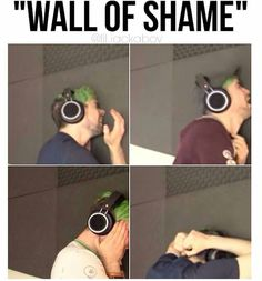 Wall of shame! XD