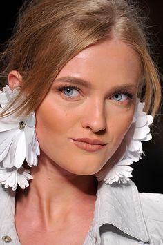 Vlada Roslyakova @ Blumarine Spring 2012 Details
