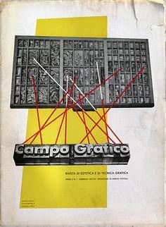 Campo Grafico - Nº.1 - Carlo Dradi, Attilio Rossi & Horacio Coppola, January 1937