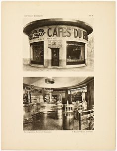 Window Shop in Art Deco Paris Paris Cafe, New Paris, Monuments, Silent Screen Stars, Streamline Moderne, Art Deco Movement, True Art, Old Buildings, Art Deco Fashion