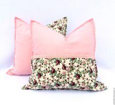Купить Комплект декоративный подушек - розовый, подушка, декоративные элементы, декоративная подушка, подушка на диван