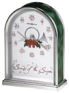 Howard Miller 645687 Sounds of the Season Christmas Clock by *** Click on the image for additional details.