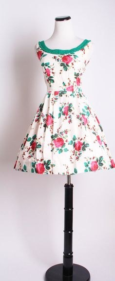 Your place to buy and sell all things handmade Vintage Tea Dress, Vintage Dresses, Vintage Outfits, Vintage Clothing, Cocktail Party Outfit, Summer Dresses, Tea Dresses, Wedding Dresses, Mod Look