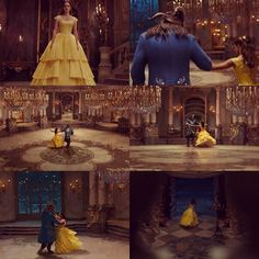 Dancing Beauty and the Beast 2017