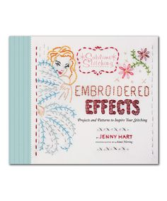 Look at this Embroidered Effects Hardcover on #zulily today!