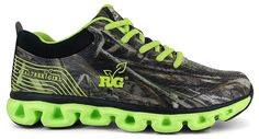 This Fashionable Athletic Features: combination mesh and synthetic upper, rubber overlay pattern with Realtree® camo pattern, padded collar and tongue for comfort, cushioned insole and premium arch support, durable rubber outsole
