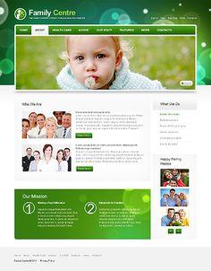 Family Center Website Templates by Mercury Joomla Templates, Website Template, Mercury, Web Design, Parenting, Design Web, Raising Kids, Childcare, Site Design