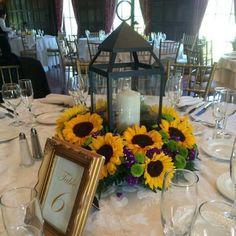 fleur-tournesol-lanternes-couronne-tournesols-fleurs-pourpres-déco-mariage