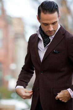 Dapper Accent: The Silk Scarf. http://hespokestyle.com/silk-scarf-dapper-accent/
