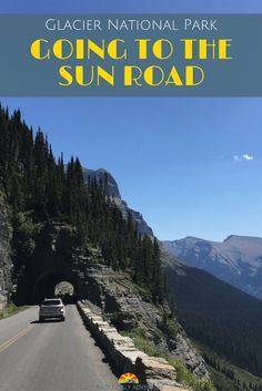 Glacier National Park - Going To The Sun Road. With amazing views this National Park drive is a can't be missed adventure to take your family on. Your kids will love the thrill of riding higher and higher up a mountain and you will enjoy it too! Family travel at its best!