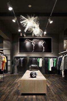 men's clothing shop design - Google Search