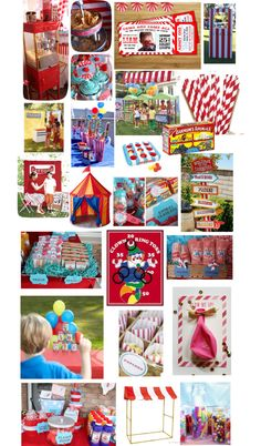 """Carnival Birthday Party"" by pologerlie on Polyvore"