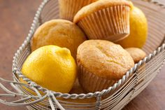 Honey Lemon Olive Oil Muffins! Just made these this morning.  I used yogurt instead of buttermilk, it is an equal substitute.  They are so good!