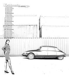 the 338 best citroen femmes images on pinterest