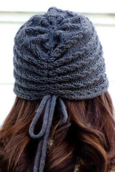 Gatsby's Girl Cloche - Knitting Patterns and Crochet Patterns from KnitPicks.com