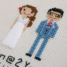 It's all in the detail! I love the tie on the groom and the cute flower in the brides hair in this wedding anniversary portrait bought as a gift for a second wedding anniversary (cotton!).