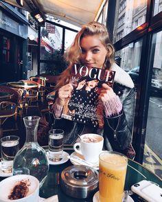elsa hosk (@hoskelsa) в Instagram: «Love me some gigi and french mornings, ill have everything on the menu plssss ☀️»