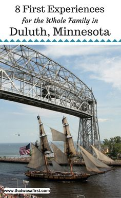 Here are eight first experiences in Duluth Minnesota for your whole family. Visit Lake Superior ride an alpine coaster eat some fantastic local food and more! Toddler Travel, Travel With Kids, Family Travel, Minnesota Camping, Duluth Minnesota, Alpine Coaster, Us Travel Destinations, Camping World, Camping Gear
