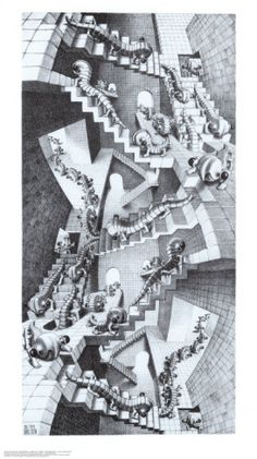 """House of Stairs"" Escher - one of my favorite!!"