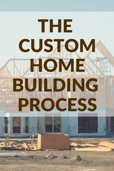 What does the custom home building process even look like? Take a peek behind the scenes in our blog post.