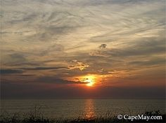 Sunset over the bay | Cape May Picture of the Day, Cape May NJ Photography