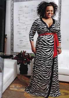 Jill Scott... love the look