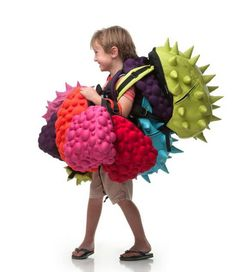 Love the MadPax backpacks which come in so many styles our kid are dying for--toddler sizes too.