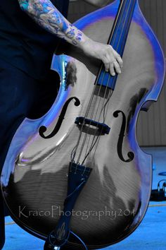 $25.00 (Colorized blue upright bass)
