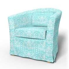 Tullsta, Sesselbezüge, Sesselbezüge, Regular Fit diesen Stoff anwenden Panama Cotton Absolute White