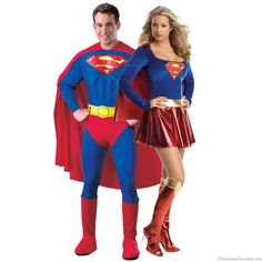 superman and supergirl couples costumes - Halloween Costumes 2013