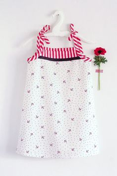 Cute dress, free Oliver + S pattern.