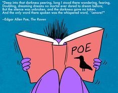 33 Of The Creepiest Lines In Literature--from The Raven, by Edgar A Poe