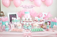 Exceptional Baby Shower Dessert Table! For Diy Ideas, Recipes U0026 More, Follow Me @