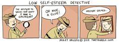 Low Self-Esteem Detective