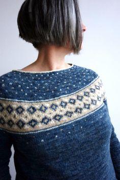 Northern Night Sweater Knitting pattern by Sylvie Polo Northern Night Sweater Knitting pattern by Sylvie Polo Free Chunky Knitting Patterns, Fair Isle Knitting Patterns, Sweater Knitting Patterns, Free Knitting, Knit Sweaters, Northern Nights, Super Bulky Yarn, Knit Picks, Knit Crochet