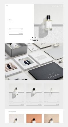A.N Other by Socio Design, United Kingdom. #branding #design #website