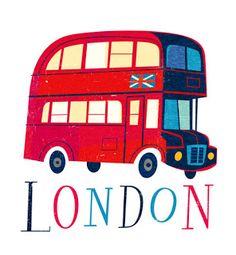 London Bus by Jamey Christoph