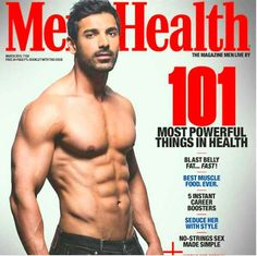 John Abraham still made other men look meh in comparison with the help of this Men's Health cover.