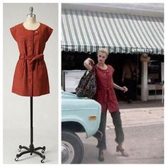 "Anthro 'BLUSTERY DAYS JACKET' Sharing a silhouette with your favorite frock, Tabitha's tweed coat is a perfectly ladylike way to keep the chill at bay. Removable belt Button closure Polyester, rayon, wool; polyester lining Dry clean 31.75""L Anthropologie Jackets & Coats"