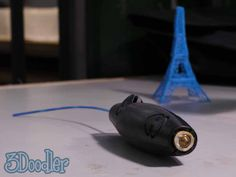 3Doodler - a plastic extrusion pen that lets you draw in 3D. Their Kickstarter is over half a million beyond their initial goal with over a month to go.