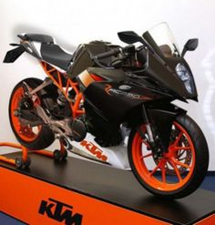 The KTM RC390