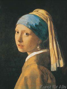 Jan Vermeer - Ragazza con l`orecchino di perla
