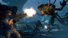 5120x2880 Free desktop aliens colonial marines