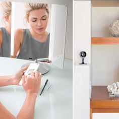 Get beach-house ready with help from your Nest Cam & the new sensor mirror pro. Whatever lighting condition your Nest Cam sees, the mirror can recreate it perfectly.