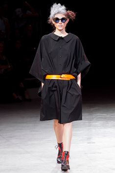 434b396ec321 Yohji Yamamoto Spring 2014 Ready-to-Wear Fashion Show Collection: See the  complete