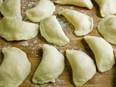 Homemade pierogis with potato and cheese filling .. my girls love pierogis and these have no crazy ingredients.