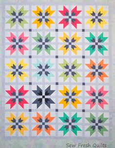 WoW-E Quilt Pattern PDF  instant download modern patchwork