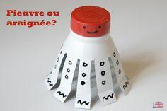 Petite pieuvre partir d 39 une bouteille en plastique - Bricolage avec bouteille plastique ...