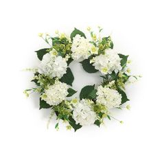 Browse Our White Hydrangea Wreath, As Well As Other Melrose Home Decor  Wreaths, Wreath Holders At Trendy Tree.